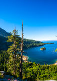 Emerald Bay, Lake Tahoe. Beautiful Emerald Bay in South Lake Tahoe, California, USA Royalty Free Stock Photo