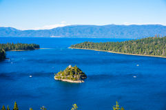 Emerald Bay, Lake Tahoe. Beautiful Emerald Bay in South Lake Tahoe, California, USA Stock Photo