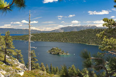 Emerald Bay at Lake Tahoe California Royalty Free Stock Photos