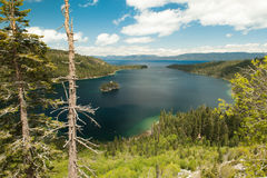 Emerald Bay at Lake Tahoe California Stock Image
