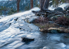 Emerald Bay on Lake Tahoe with Lower Eagle Falls Royalty Free Stock Photography