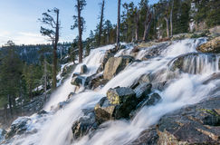 Emerald Bay on Lake Tahoe with Lower Eagle Falls Royalty Free Stock Image