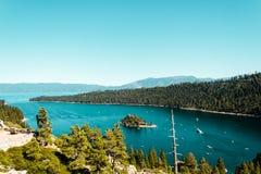 Emerald Bay and Lake Tahoe Stock Photos