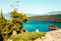 Emerald Bay and Lake Tahoe Royalty Free Stock Photos