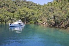 Emerald Bay på den lösa ön Royaltyfria Bilder