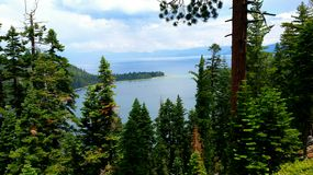 Emerald bay. This picture was taken from a different angle of emerald bay Stock Image