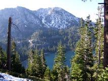 Emerald Bay State Park dans le lac Tahoe du sud et Stateline photographie stock libre de droits