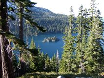 Emerald Bay State Park in South Lake Tahoe & Stateline stock images