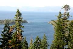 Emerald Bay, Tahoe See, Kalifornien USA Lizenzfreies Stockbild
