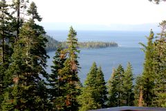 Emerald Bay, Tahoe See, Kalifornien USA Lizenzfreie Stockfotos