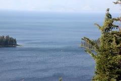 Emerald Bay Tahoe sjö, Kalifornien USA royaltyfria foton