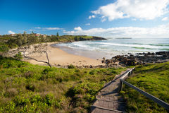 Emerald Beach in Australia Royalty Free Stock Photos