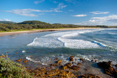 Emerald Beach in Australia Stock Photo