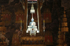 Emerald buddha. The famous emerald buddha in a temple Royalty Free Stock Image