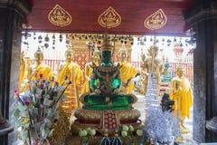 Emerald Buddha Chiang Mai Royaltyfria Bilder
