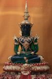 Emerald Buddha i Wat Sakra Arkivfoton