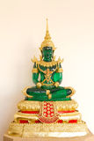 Emerald buddha image. In thai temple Royalty Free Stock Images