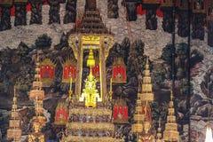 Emerald Buddha på Wat Phrakaew Bangkok Royaltyfri Bild