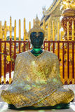 Emerald Buddha-standbeeld Royalty-vrije Stock Foto's