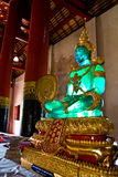 The emerald buddha statue Stock Images