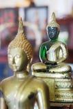 Emerald buddha statue in temple. Emerald buddha statue in Buddhist temple Royalty Free Stock Photo
