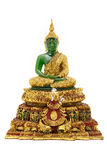 Emerald Buddha Statue Royalty Free Stock Images