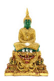 Emerald Buddha Statue Stock Photography
