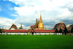 The emerald buddha temple Royalty Free Stock Photography