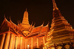 Emerald Buddha Temple Stock Image