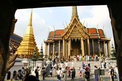 Emerald Buddha Temple in Bangkok Royalty Free Stock Images
