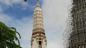Emerald Buddha temple in bangkok stock video