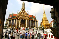 Emerald Buddha Temple in Bangkok. Thailand Royalty Free Stock Image