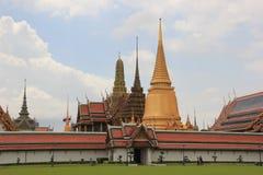 Emerald Buddha Temple in Bangkok, Thailand Stock Afbeelding
