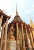 Emerald Buddha Temple in Bangkok, Thailand Royalty-vrije Stock Foto's