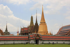 Emerald Buddha Temple in Bangkok, Thailand. Emerald Buddha Temple, one of the most famous destinations in Bangkok, Thailand Stock Image