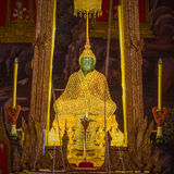 The Emerald Buddha in the temple of Wat Phra Kaeo Stock Photography