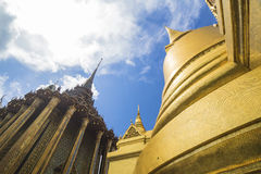 The emerald buddha temple Royalty Free Stock Image
