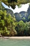 Emerald cave lagoon. Koh Mook. Thailand Royalty Free Stock Photos