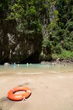 Emerald cave lagoon. Koh Mook. Thailand Stock Image