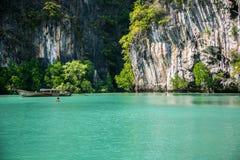 Emerald Cave (Morakot Cave) Fotografia Stock
