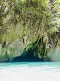 Emerald Cave (Morakot Cave) Stock Photo