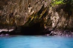 Emerald cave Trang Thailand Stock Photo