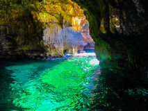 Emerald Cave Stock Photography
