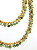 Emerald chain Royalty Free Stock Photo