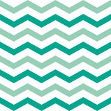 Emerald Chevron Stock Photography