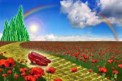Free Emerald City In The Land Of Oz Royalty Free Stock Photography - 7060847