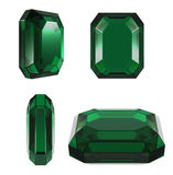 Emerald classic cut Stock Images