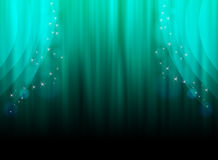Emerald curtain. Royalty Free Stock Images