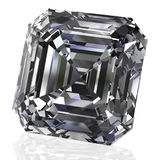 Emerald cut Royalty Free Stock Images
