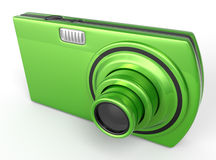 Emerald Digital Camera Royalty Free Stock Photo